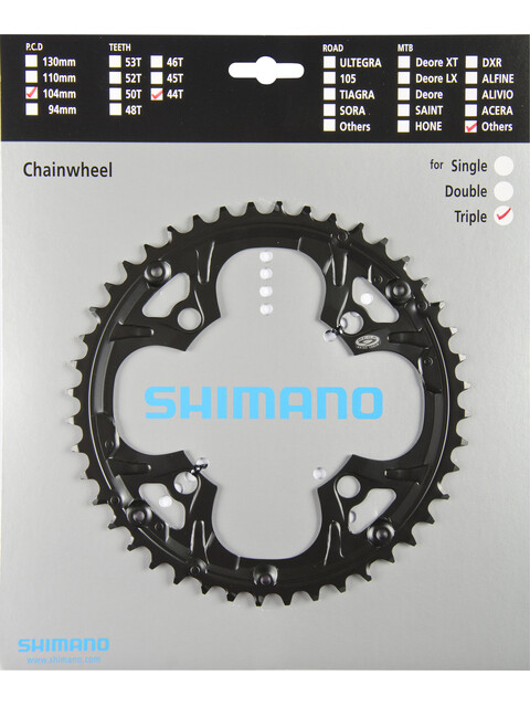 Shimano Deore FC-M480 Chainring for chain protection ring black